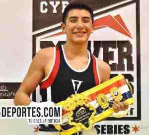 Erick Mondragón dedica a su abuelita el campeonato de CYBC Power Gloves