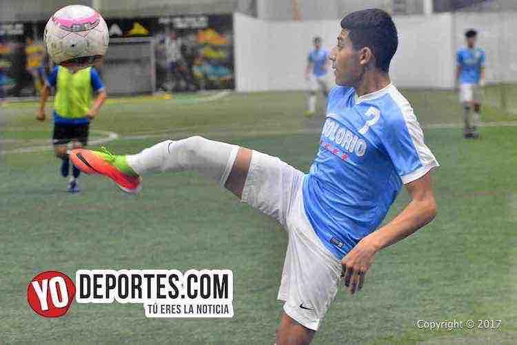 Juvenil Chicago-Depth FC-Liga 5 de Mayo-futbol
