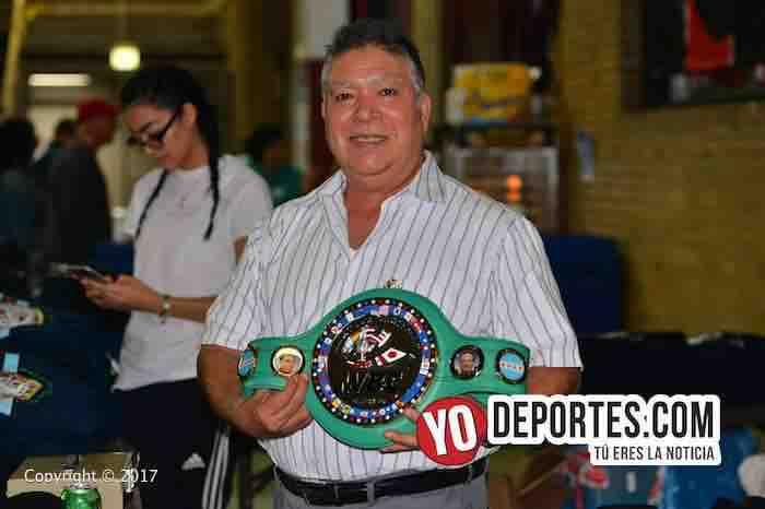Mario Gutierrez-WBC-CMB-Torneo Amateur Cicero Stadium