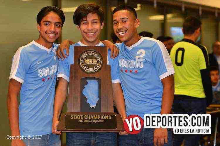 Solorio Academy Illinois State Champions-IHSA-Sun Warriors