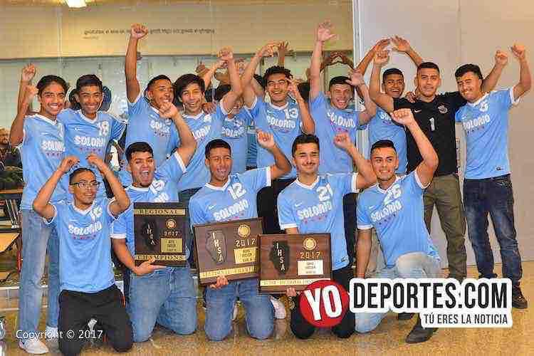 Solorio Academy Illinois State Champions-IHSA-campeones estatales