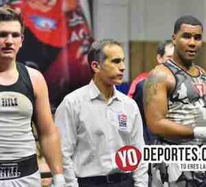 Dominic Hardy vs Ramses McGraw Torneo Amateur CMB en el Cicero Stadium