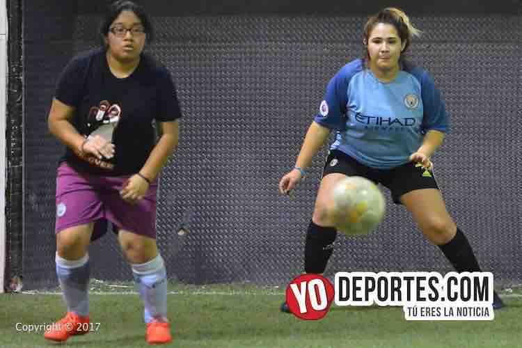 Atletico-Marte More-Ligas Unidas de Chicago Soccer League-futbol mujeres