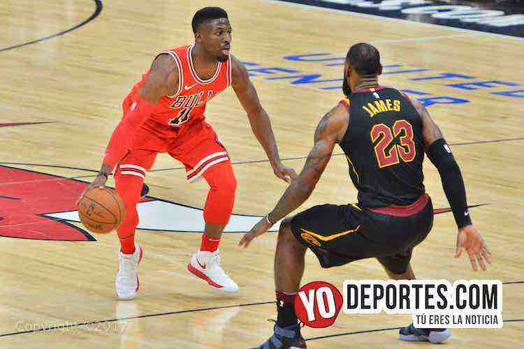 David Nwaba-LeBron James-Chicago Bulls-Cleveland Cavaliers