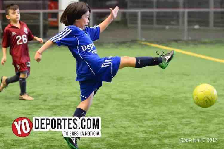 Deportivo 57-Tonalapa-Liga Douglas Infantil-soccer chicago