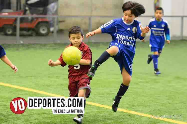 Deportivo 57-Tonalapa-Liga Douglas Infantil-soccer