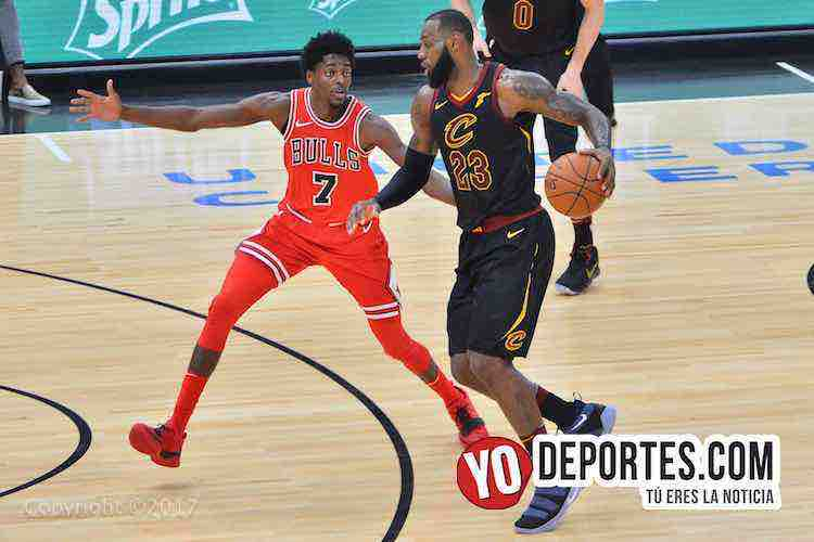 LeBron James-Justin Holiday-Chicago Bulls-Cleveland Cavaliers