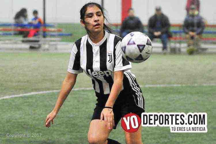 Arbirtro Enrique Reyes-Estrellas-Greenwood-AKD-Premier Academy Soccer League-mujeres indoor futbol