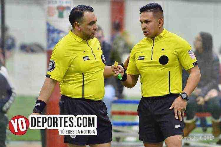 Arbitro Edmundo Ramirez-Leo Zuniga-Chicago Soccer-Red Fire-Champions-Liga Latinoamericana