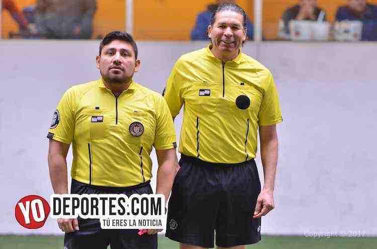 Arbitro Gio Gonzalez-Jorge Ruiz-Tilza-Morelos-Chicago Dragones-Liga Interamericana