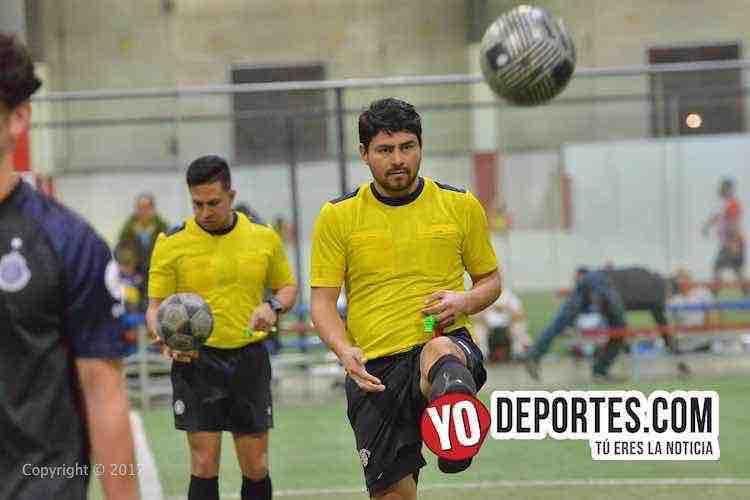Arbitro Leo Zuniga-Manny Duran-San Antonio Champions-Real Morelia-Liga Latinoamericana
