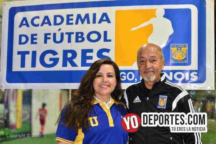 Lucy Montano-Marcelino Gutierrez-Academia Oficial Club Tigres de Monterrey Chicago