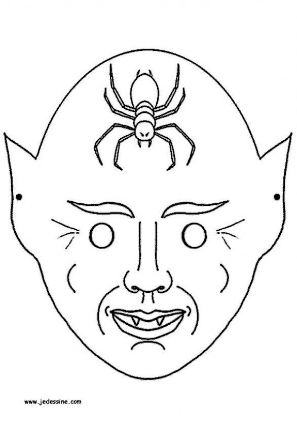 Maestra de Infantil: Máscaras y caretas de Halloween para