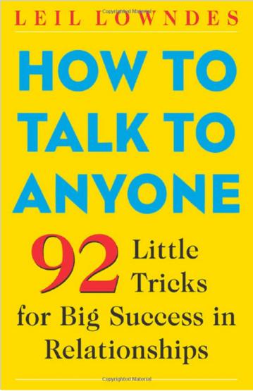 Cómo hablar con cualquier persona por Leil Lowndes