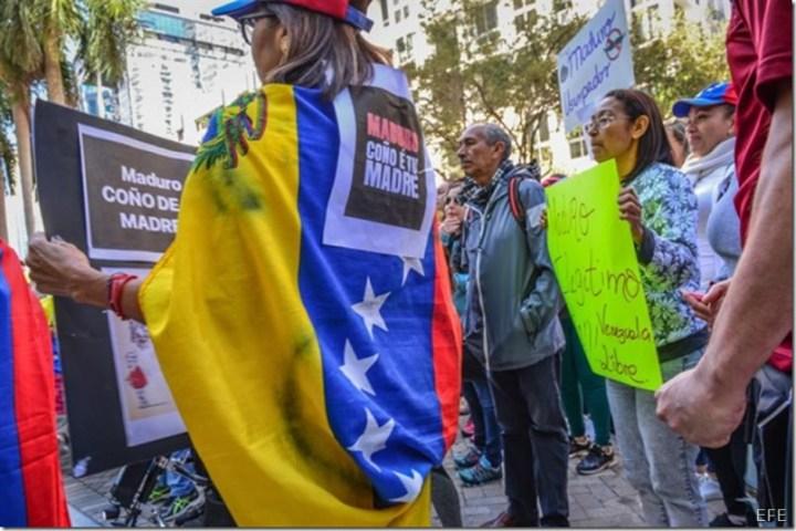venezolanos-espana-EFE