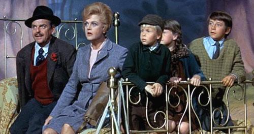 Angela Lansbury en un fotograma de