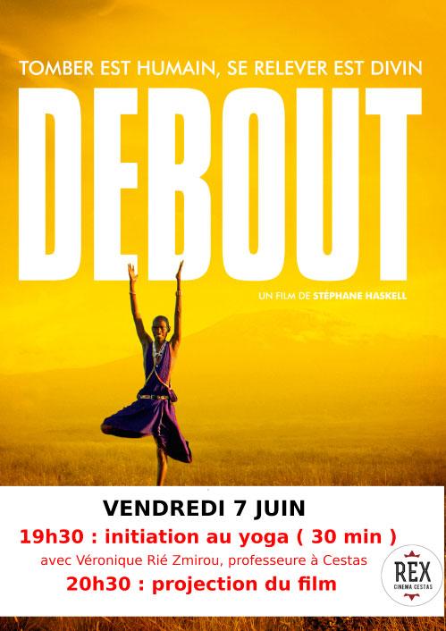Stage Yoga - Cinéma Cestas - Film Debout
