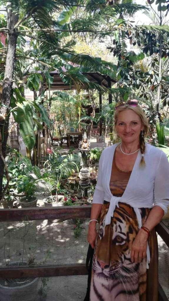 Véronique Rié Zmirou en voyage en Inde