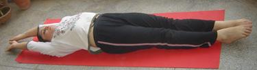 Tadasana (Supine Position)