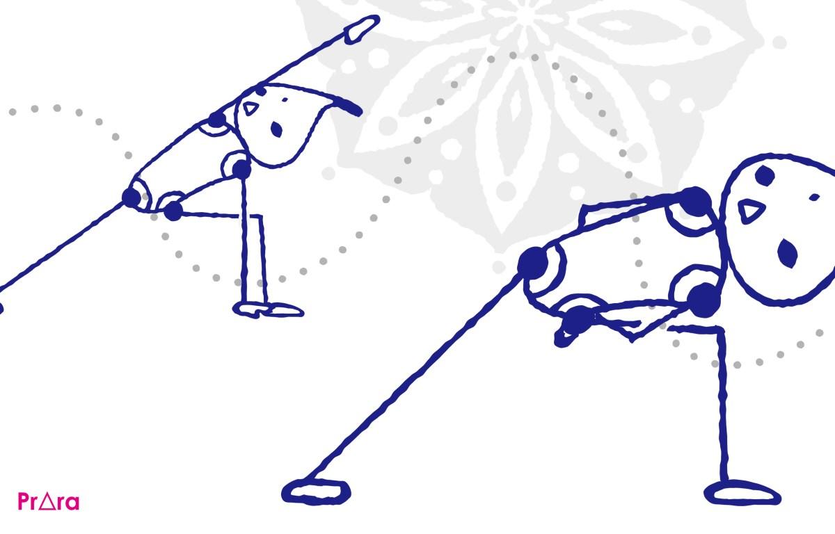 前後の動きが多いヴィンヤサ!股関節を左右にほぐすクラスの作り方