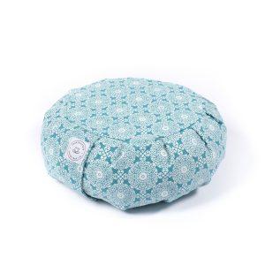 Bleu Meditation cushion for yoga practice - Yoga-Nest shop - find your best yoga products online