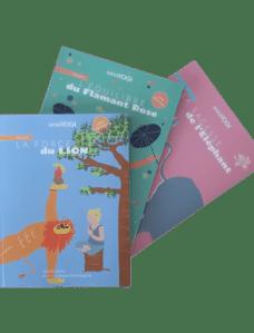 Pack de trois livres de Yoga pour enfants - disponibles dans la boutique en ligne de Yoga-Nest