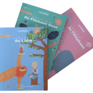 Pack of 3 Yoga books for kids - find them online in our Yoga-Nest shop