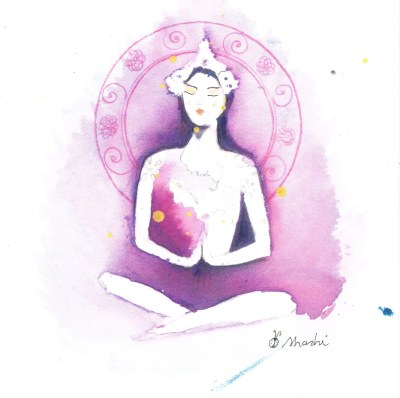 Laura Shashi illustration 4 yoga annecy