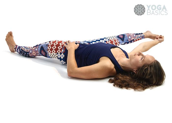 Amazing Supine Hand To Toe Pose Yoga Basics - myasthenia