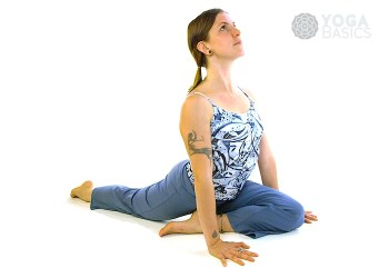 Rajakapotasana • One-Legged King Pigeon (Version A)