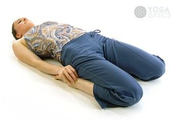 corpse pose shavasana or savasana • yoga basics