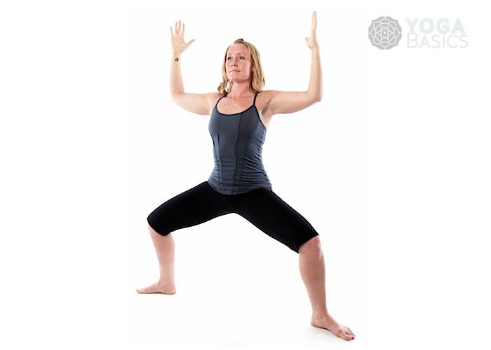 Goddess Pose Utkata Konasana  Yoga Basics