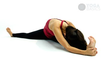 Side Seated Angle • parsva upavistha konasana