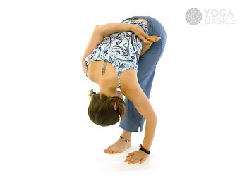 Half-bound Lotus Forward Fold / Ardha Baddha Padmottanasana