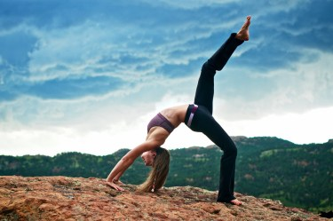 prana yoga pose
