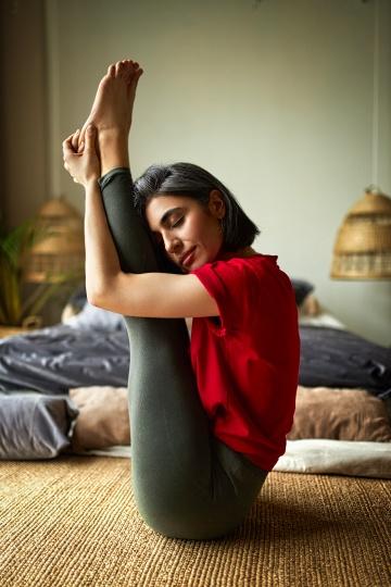 yoga retreat at home