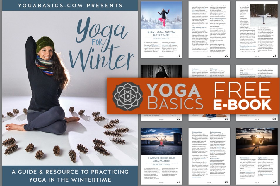 Free E-book: Yoga for Winter