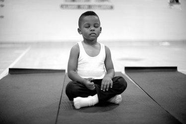 school meditation program