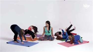 Kids Try Yoga video