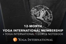May Giveaway: Yoga International membership