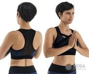 strappy yoga bra