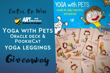 September Giveaway: Yoga with Pets