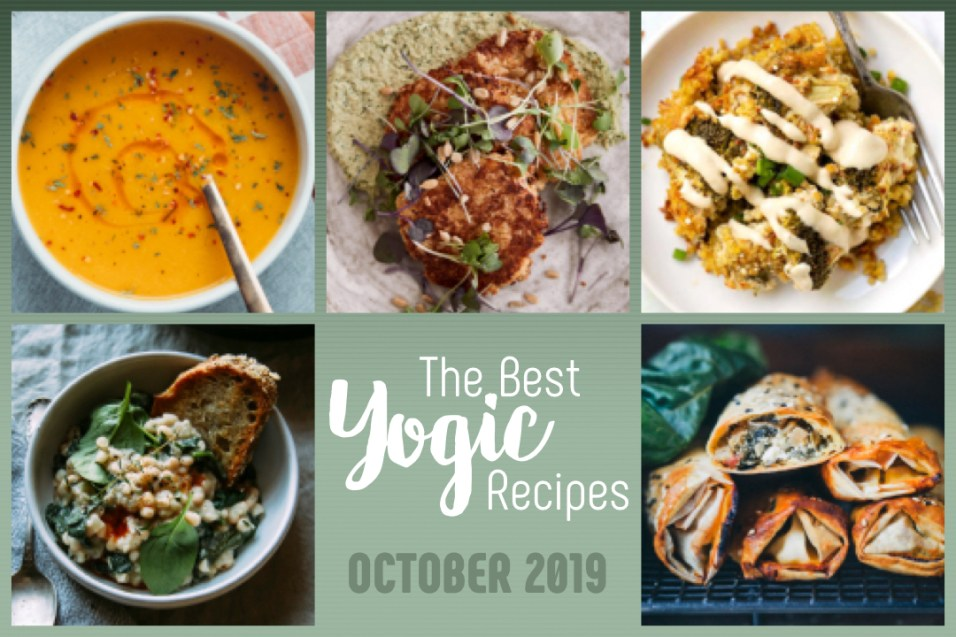 Best Yogic Recipes for October 2019