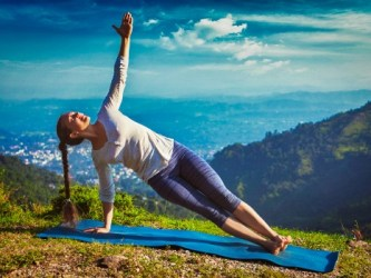 Side Plank pose (Vasisthasana)