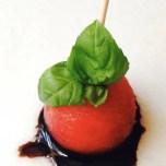 Basil Watermelon Antipasto