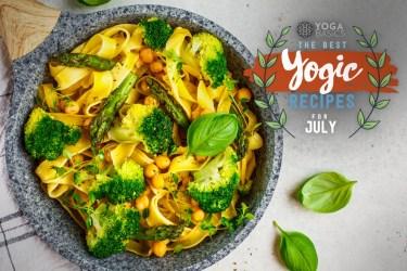 veggie yogic recipes