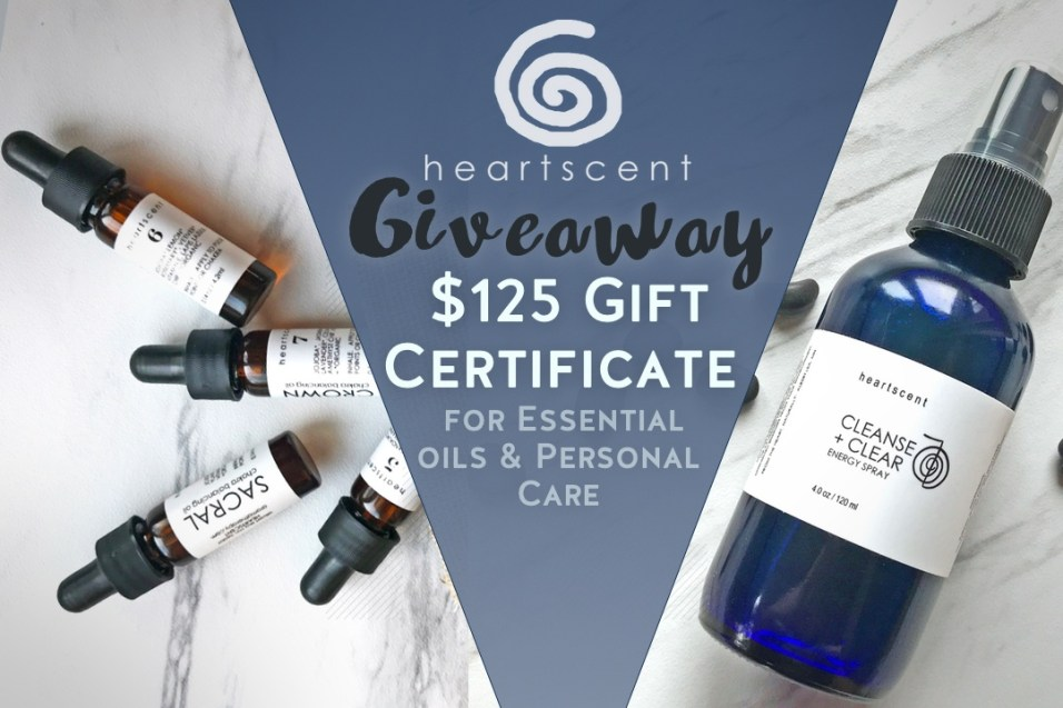 February Giveaway: Heartscent Gift Certificate