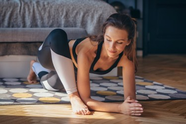 morning yoga stretches