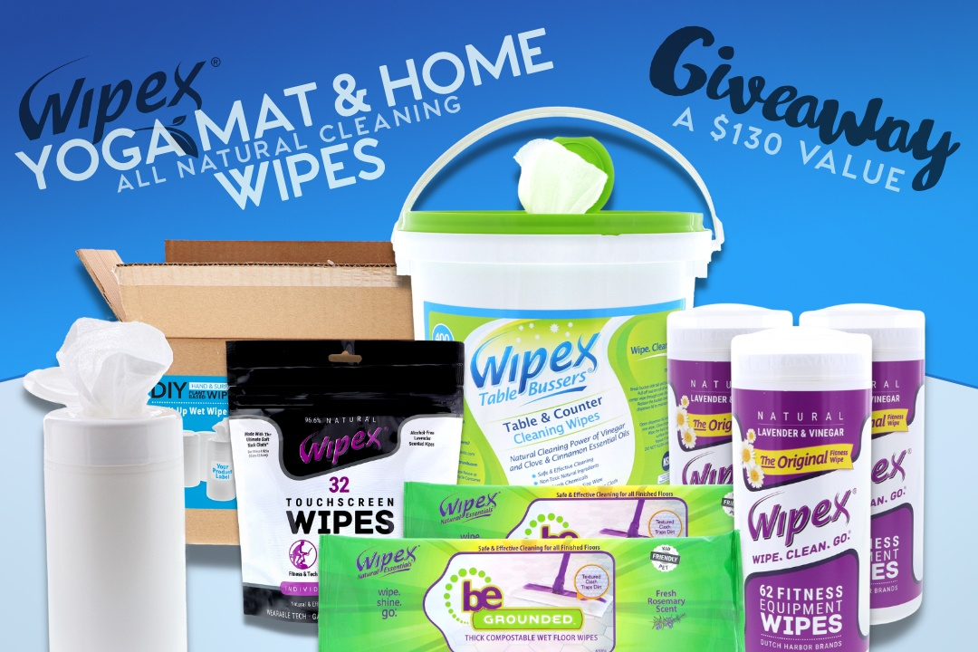 June Giveaway: Yoga Mat & Home Wipes
