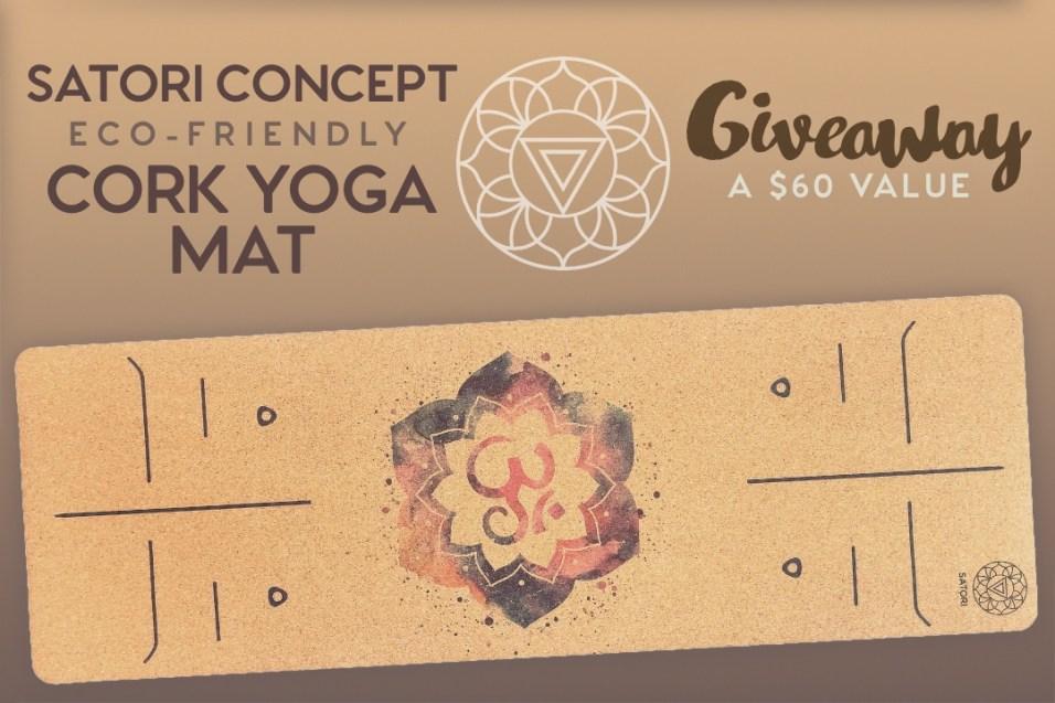 cork yoga mat giveaway